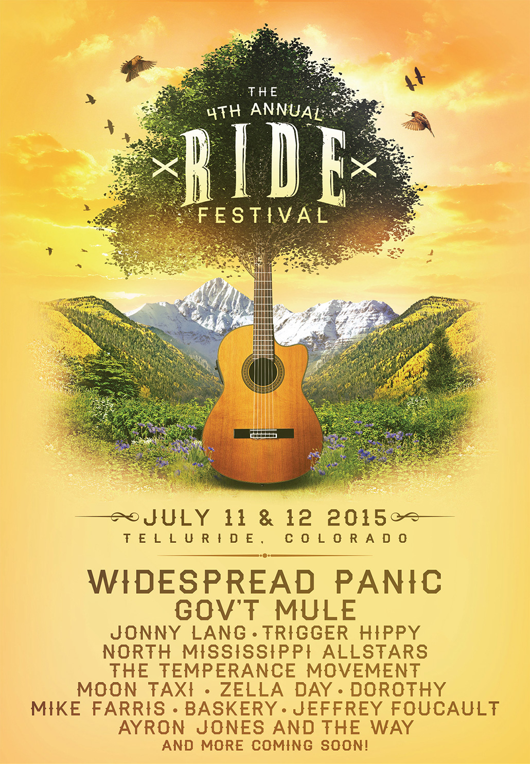 The 4th Annual Ride Festival - July 11 & 12, 2015 in Telluride, CO